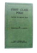 First Class Polo - First Edition SOLD