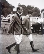 Prince Philip & Prince Charles Guards Polo Club 1970
